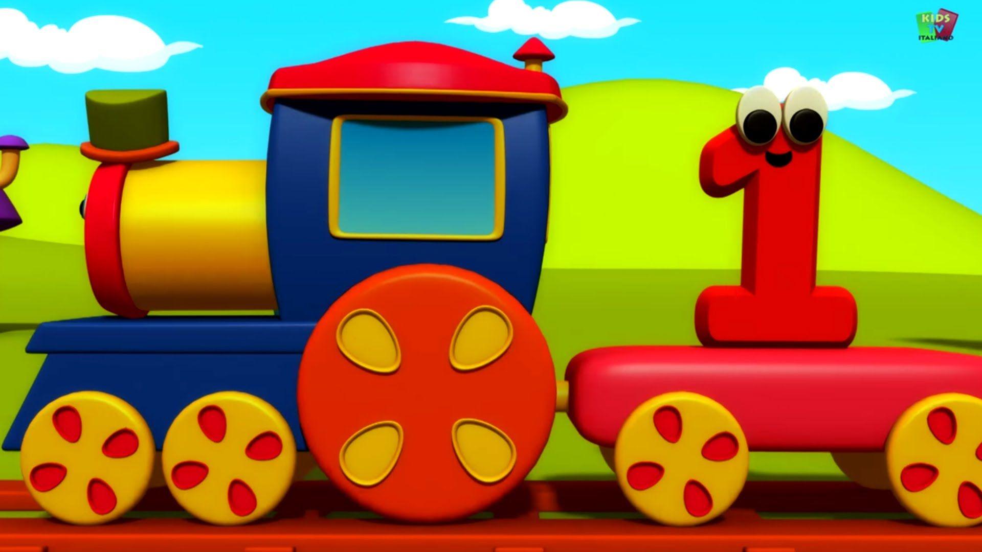 Bob il treno numero del treno itinerario di educazione