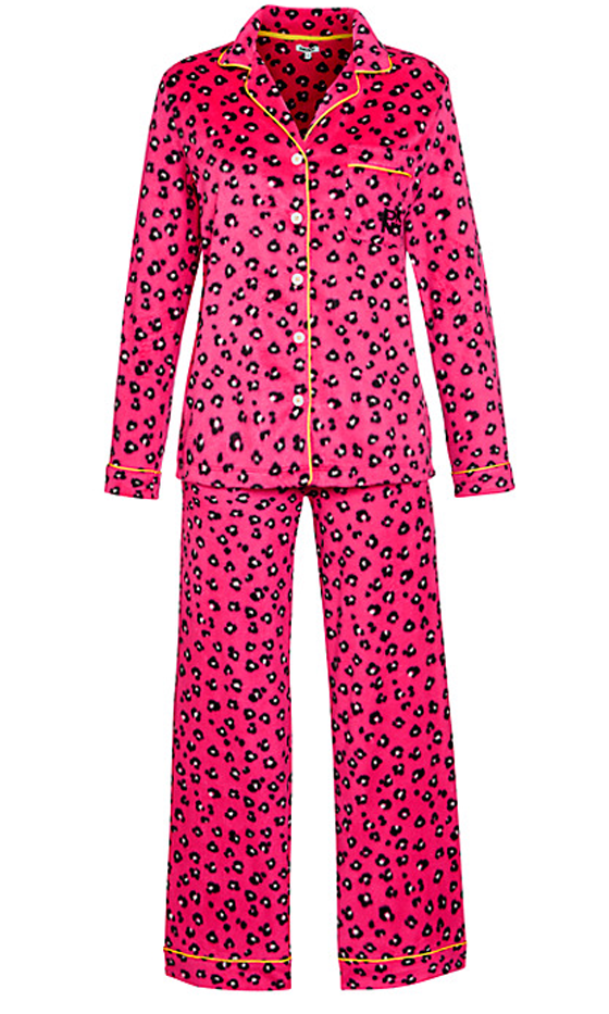 DKNY Animal Print Pyjama Set, £55  Pink Leopard Print Pyjamas? Yes Please