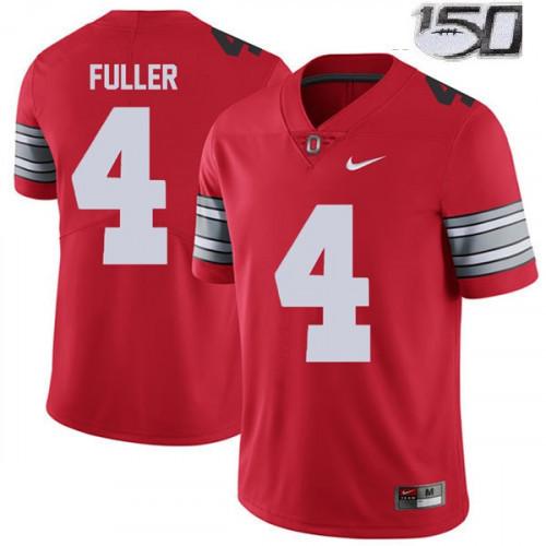 Women's Ohio State Buckeyes #4 Jordan Fuller Red NCAA Jersey 150th ...