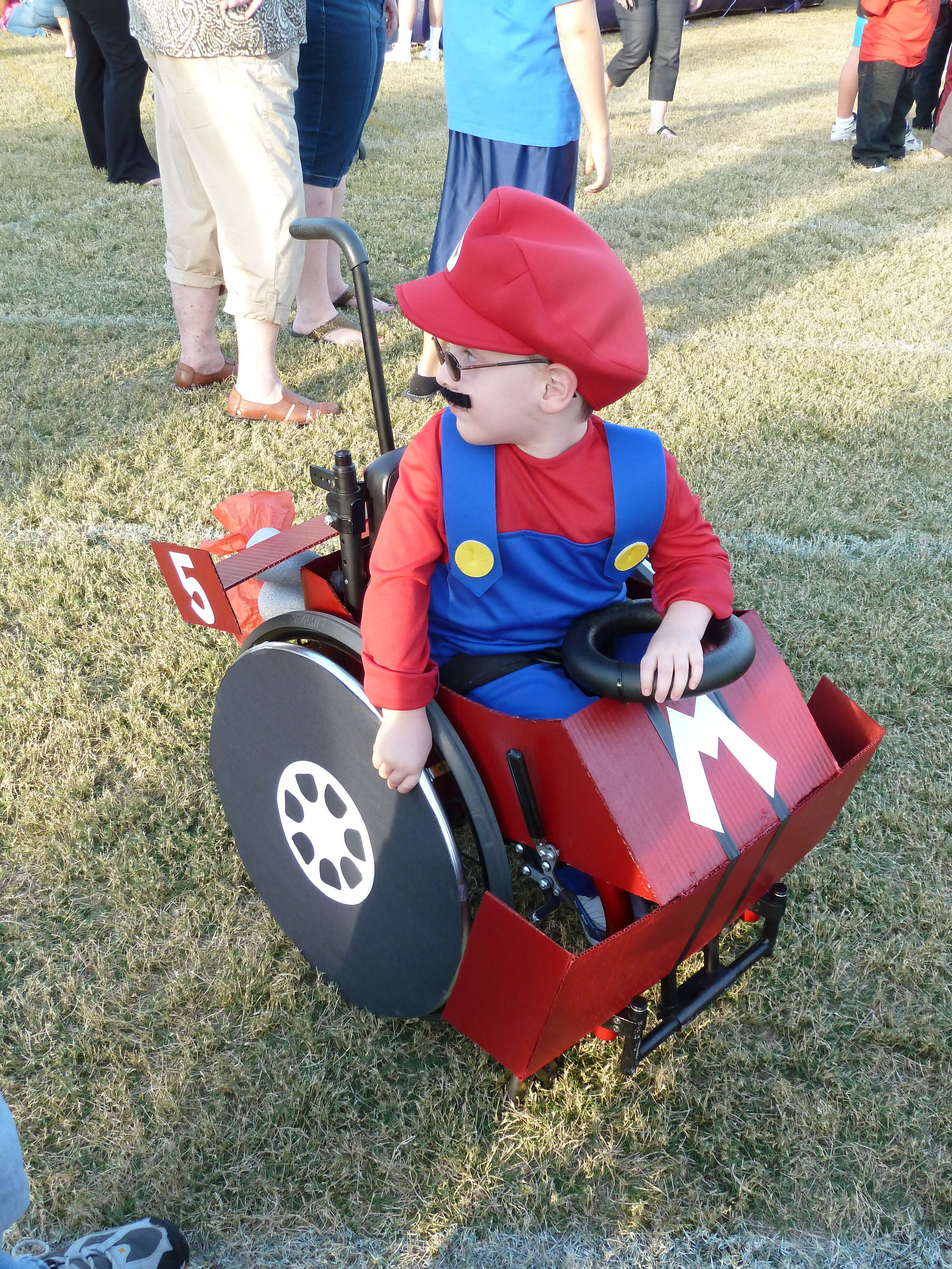 Wheelchair Mario Dinning Room Table And Chairs Hands Down My Favorite Costume Ever Caleb As