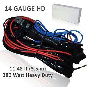 Elite Pro LED Light Bar Wiring Harness Kits, Ampper 11.48