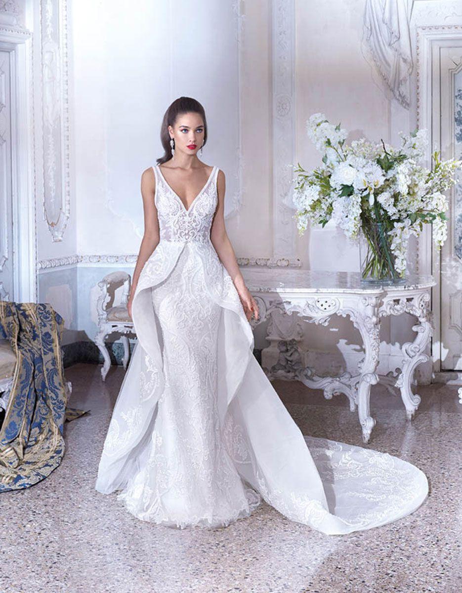 Platinum by demetrios wedding dress style dp maia wedding