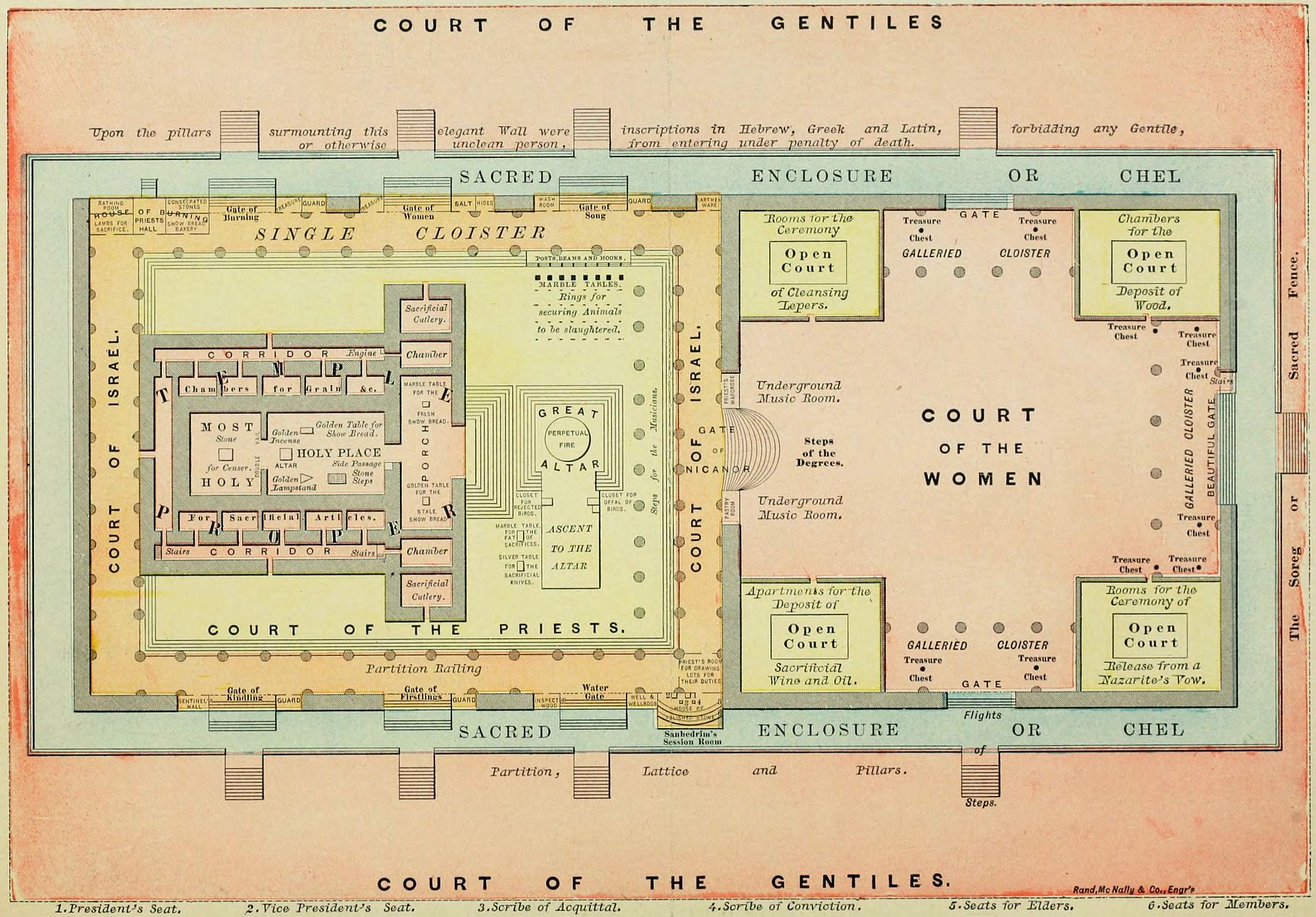Court Of The Gentiles Diagram 2002 Saturn Sl1 Radio Wiring Herod 39s Temple Tabernacle Pinterest