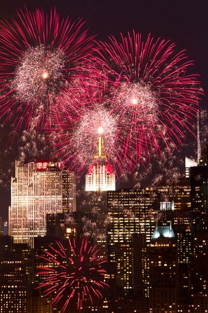 NYC. Pre-NYC Marathon Fireworks At Central Park // By Inga