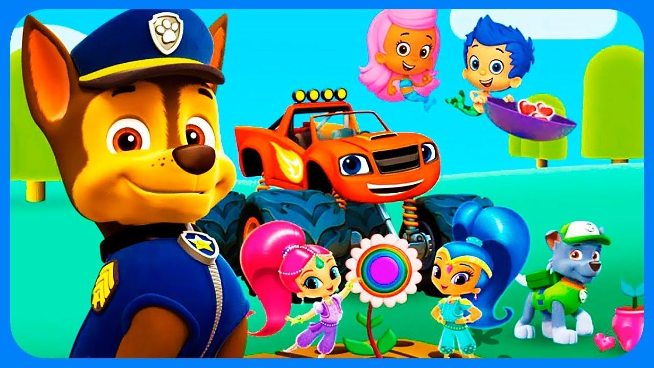Friendship Garden PAW Patrol Mission Fun Game Nick jr Friendship ...