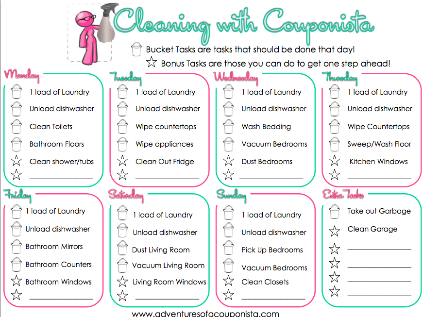 image regarding Free Printable Chore List identified as Consider your Household within just Purchase with this Free of charge Printable Chore Chart