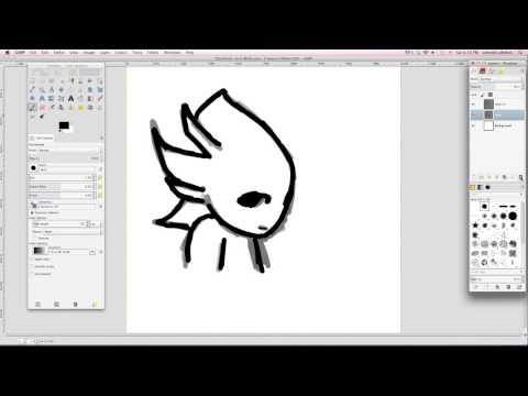 Introduction Tutorial To Gimp Learn How To Draw Youtube Gimp Tutorial Learn To Draw Gimp