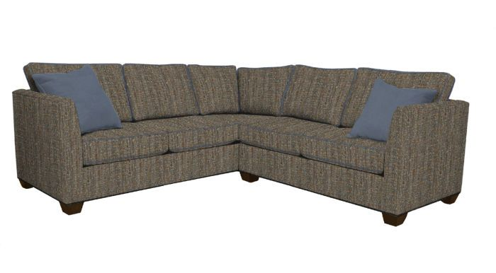 Heather Is The Ideal Mid Scale Sectional For Many Settings. The Box Border  Back, · Norwalk FurnitureCustom ...