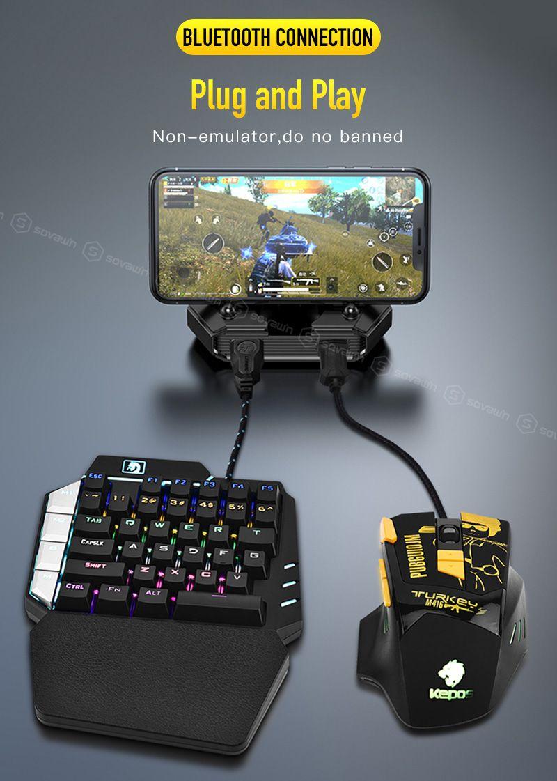 Gamepad Pubg Mobile Bluetooth In 2020 Games Real Spy Gadgets Keyboard