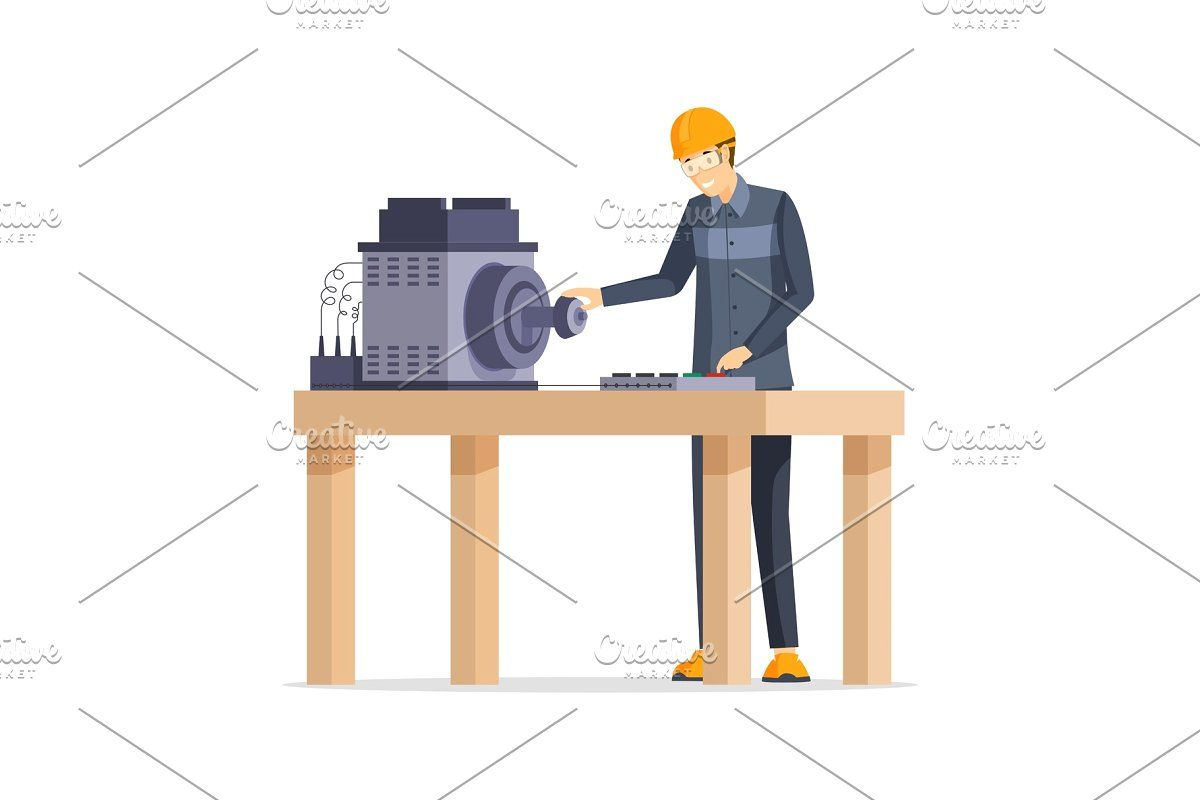 Automatic, Electrical, Employee, Engineer, Equipment