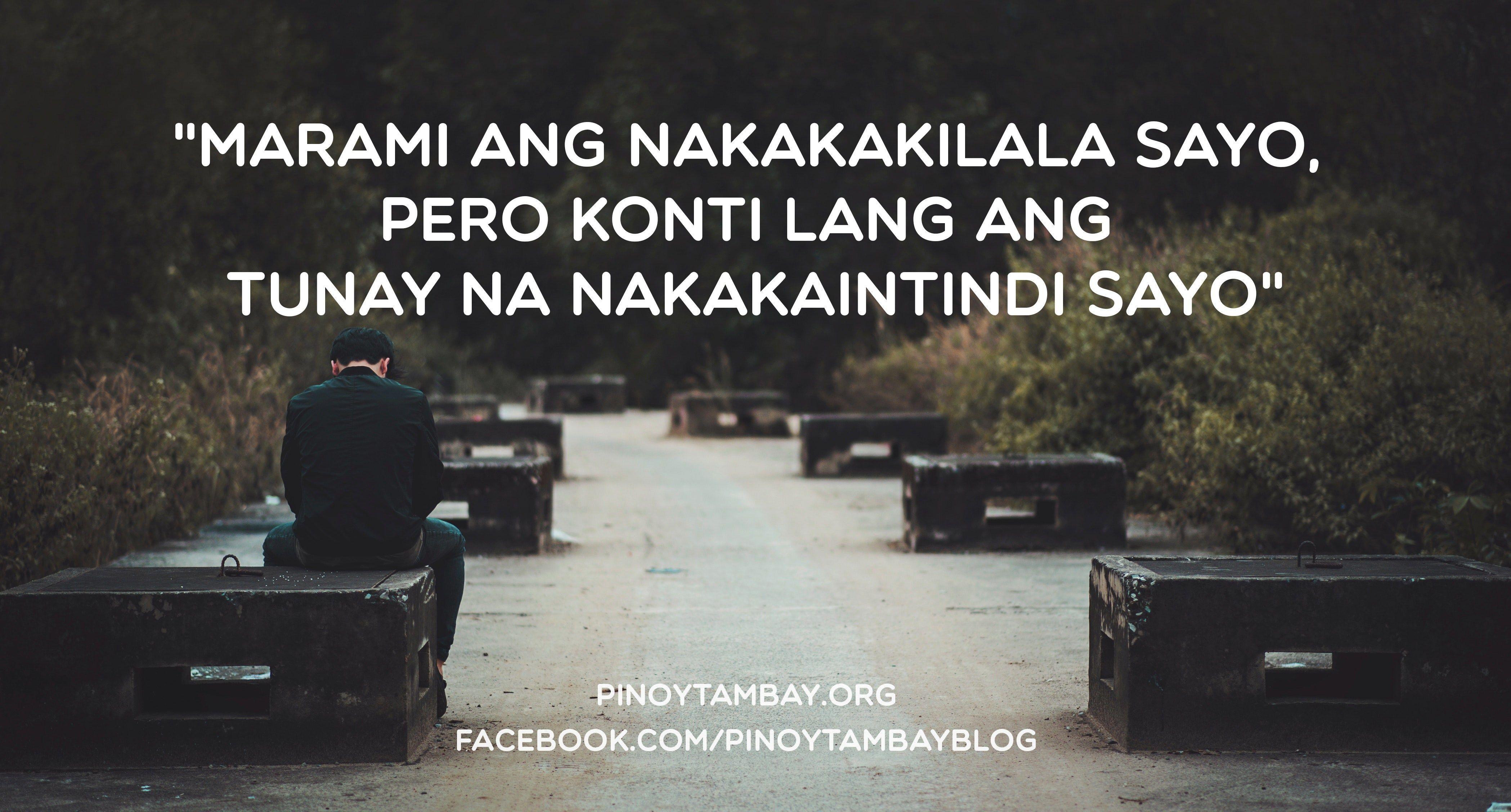 Tunay Na Nakakaintindi Pinoy Tambay Tagalog Quotes Hugot Lines Hugot