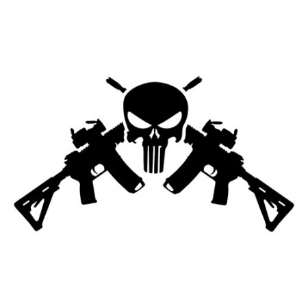 Amendment Laptop Car Truck Vinyl Decal Window Sticker PV - Custom vinyl decals for cardeer skull gun rifle hunting car truck window wall laptop vinyl