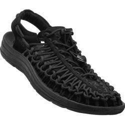 Keen Damen Trekkingsandalen Uneek Monochrome W, Größe 38 in Black / Black, Größe 38 in Black / Black