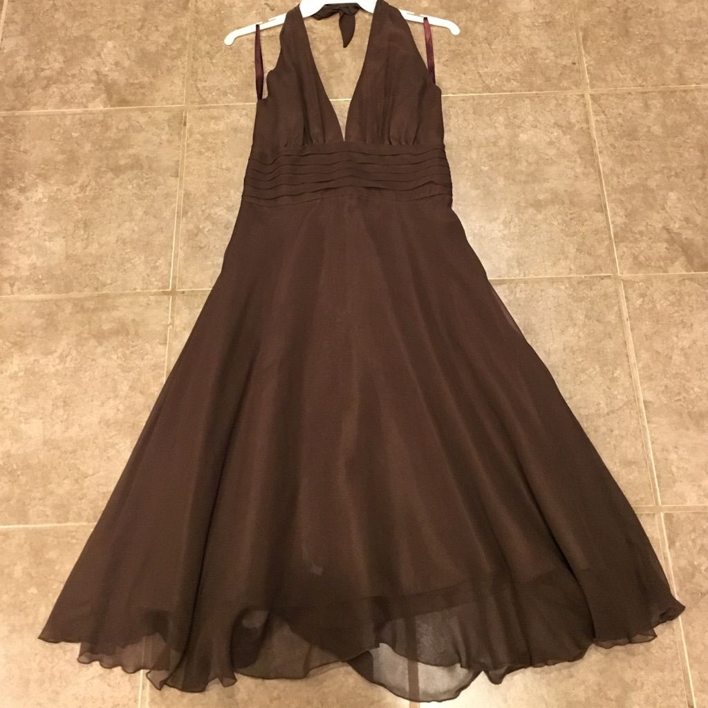 Chocolate brown mixit dress sz chocolate brown and products