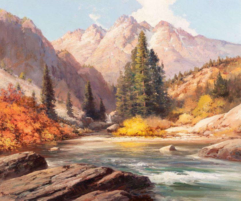 Robert william wood american 18891979 colorado river