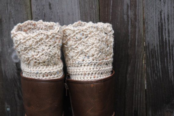 39d6d0ec77d Oatmeal colored women's boot cuffs, can be custom made to your color ...