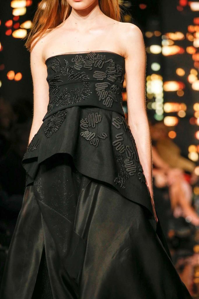 Donna Karan at New York Fashion Week, autumn/winter 2015-16.