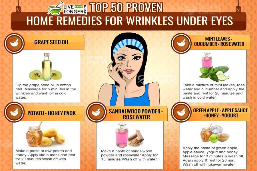 facial deep creases Home for remedies