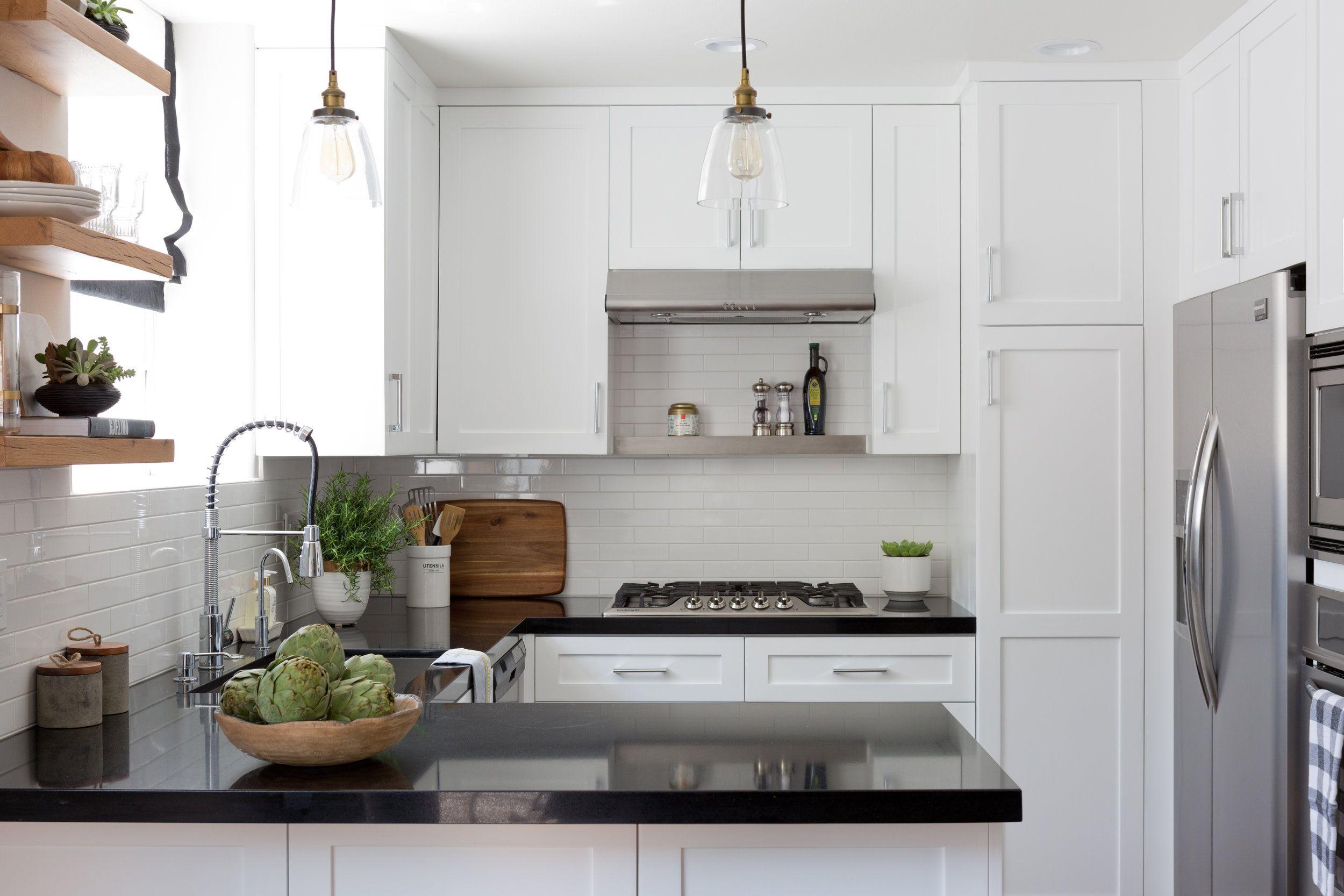 Black & white kitchen Kitchen design open, Black