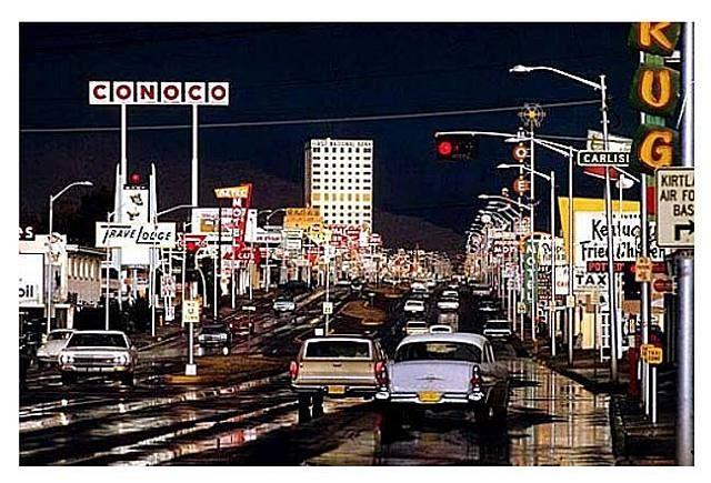 Ernst Haas. Albuquerque, New Mexico 1969