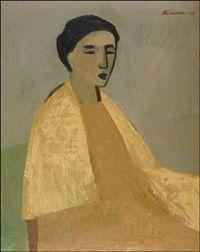 Keltainen huivi by Ahti Lavonen