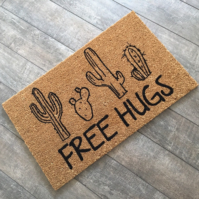 Were in a hugging kinda mood clever custom doormats from clever custom doormats from kristyandbryce Images