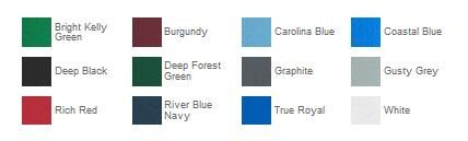 Port Authority K110 Dry Zone Polo Color Chart