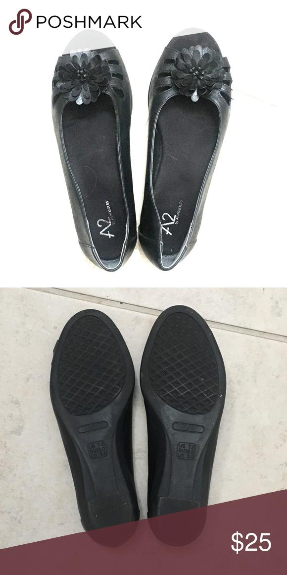Peep toe flats, Aerosoles shoes flats