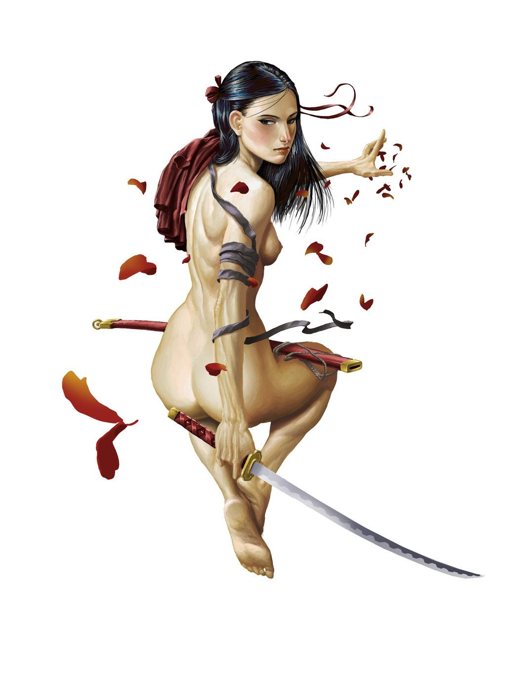 Japanese warriors nude girl