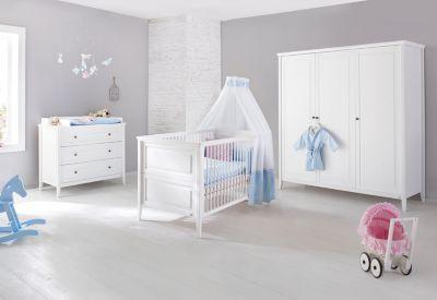 Komplett Kinderzimmer Smilla 3 Tlg Kinderbett Wickelkommode Und