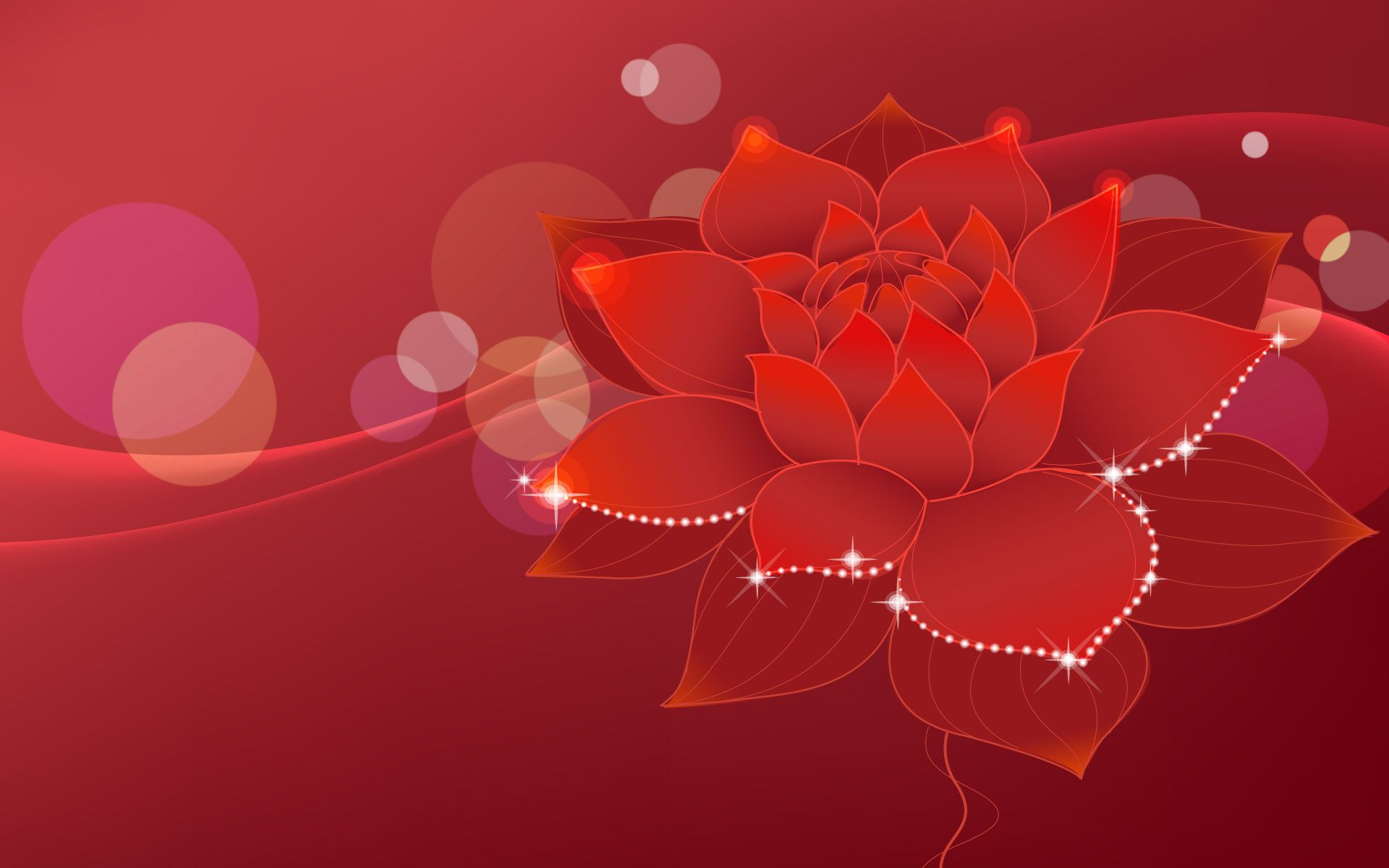 Red Flowers Background | red | Pinterest | Red flowers, Wallpaper ...