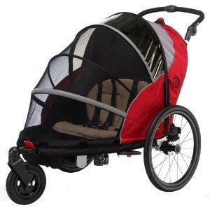 I Want This Jogging Stroller And Bike Trailer In One