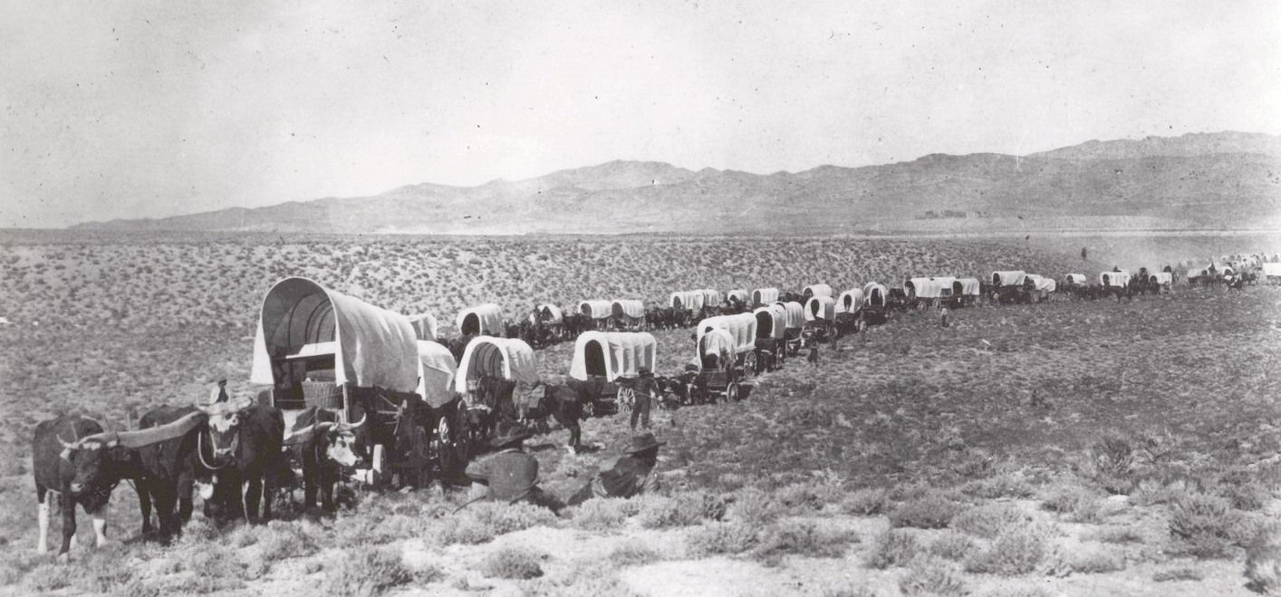 Overland Trail Wagon Utah Wagons On Pioneers