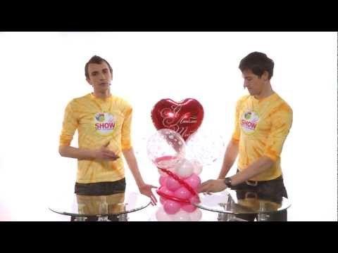 Ромашки из шаров своими руками. Урок 4 - YouTube