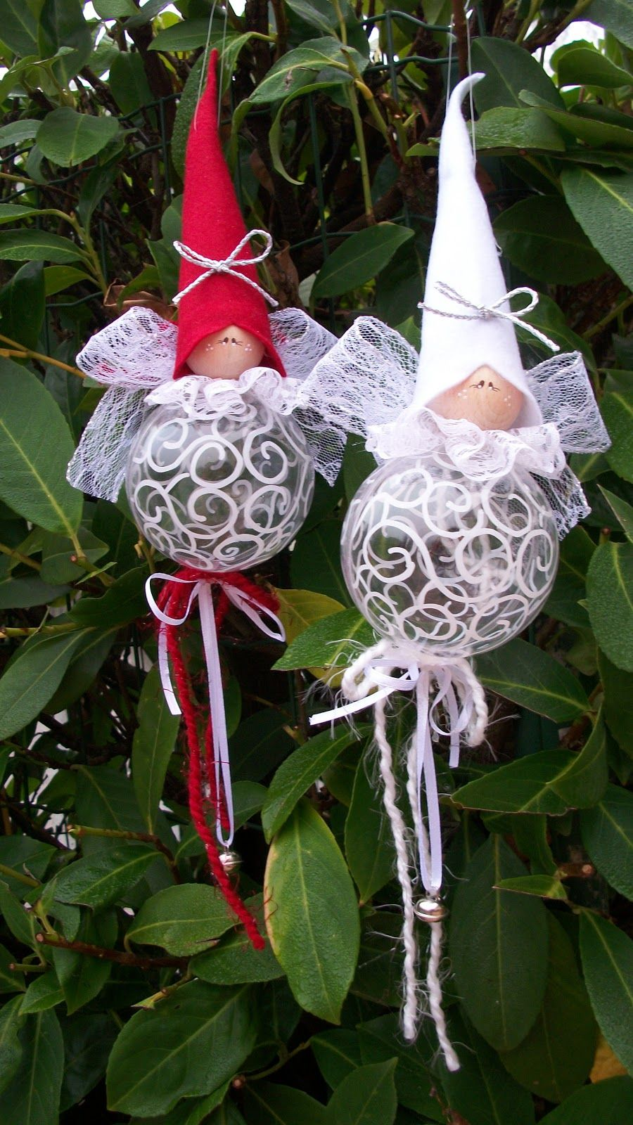 Palle folletti angeli fatine folletti elfi pinterest ornament xmas and natale - Pinterest natale ...