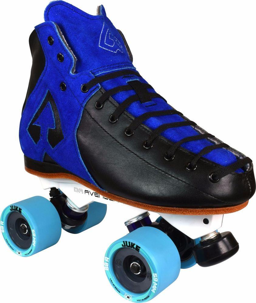 Zumiez roller skates - Antik Ar1 Avenger Juke Roller Derby Speed Skates Men Size 3 13 Antik