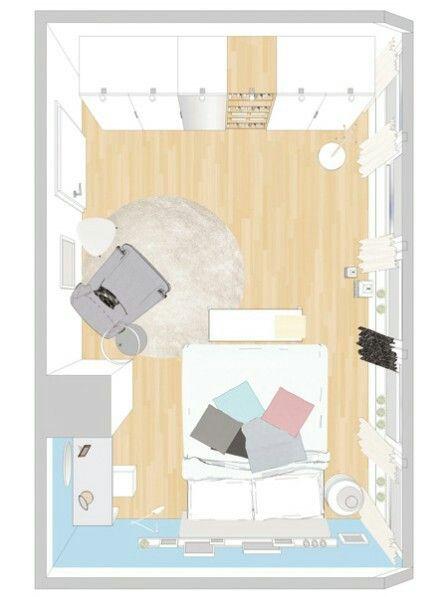 """Schlafzimmer nach """"Wohnidee"""" und """"Ikea"""""""