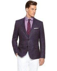 93cd9a9198 Look de Justin O Shea  Blazer en violeta