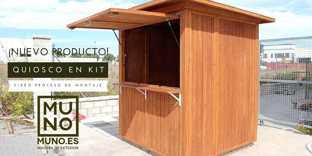 Quiosco Quiosco Kiosko Quiosco En Kit Muno Nuevo Producto