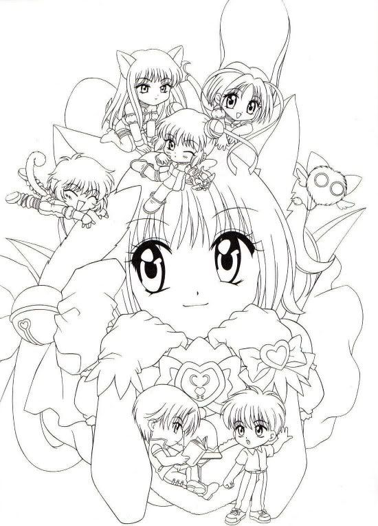 tokyo mew mew coloring pages weapons Google Search Anime