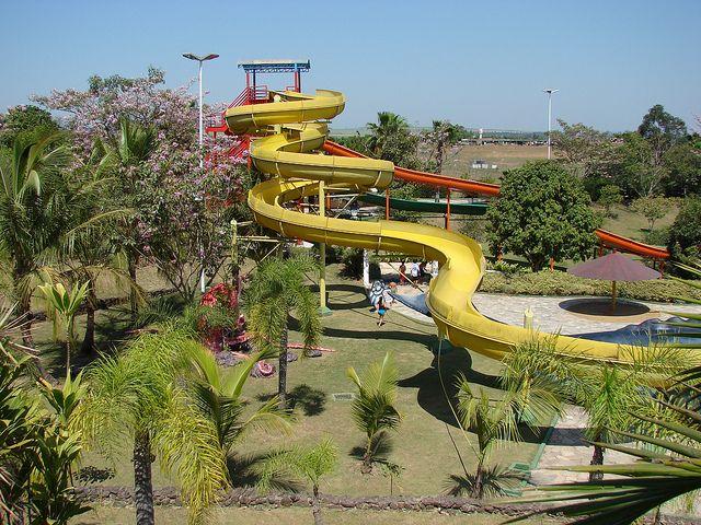 Termas Com Imagens Parque Aquatico Parque Toboga