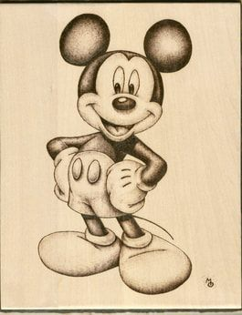 Wood Burning: Disney