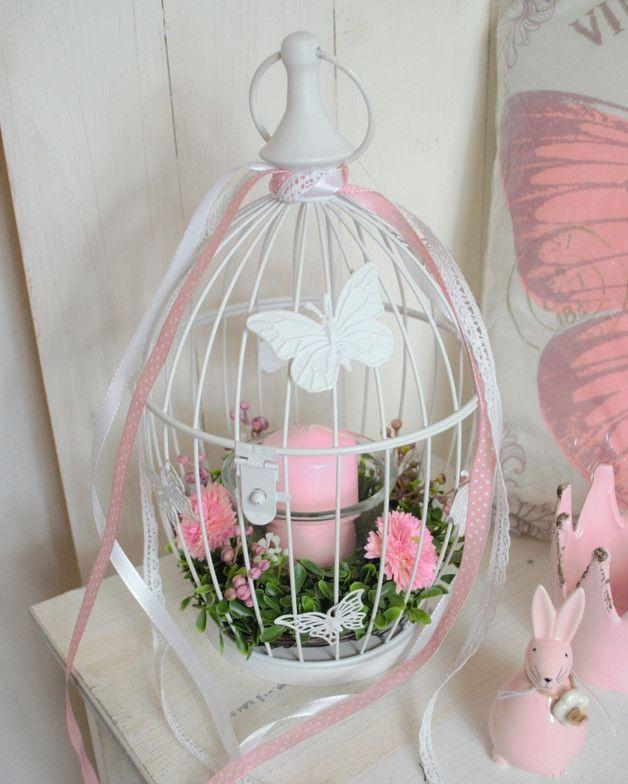 Photo of Lantern birdcage / shabby chic / country house / DECO spring wedding – hashta …