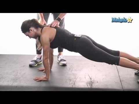 how to do a prone single leg crunch  crunches workout