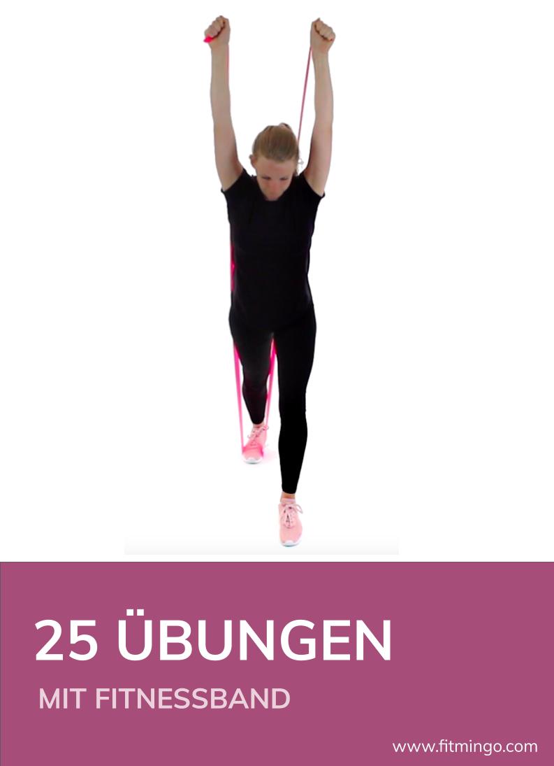 Photo of 25 Übungen mit einem Fitnessband