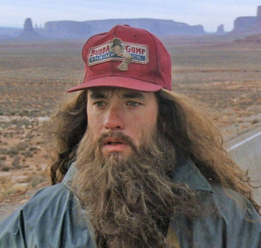 Forrest Gump | Beards | Pinterest | Forrest gump, Movie and Films
