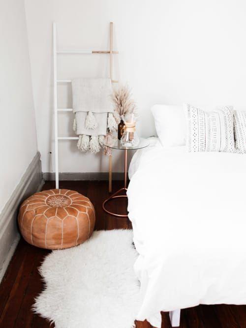 5 Gründe, warum Poufs die besseren Hocker sind | Schlafzimmer ...