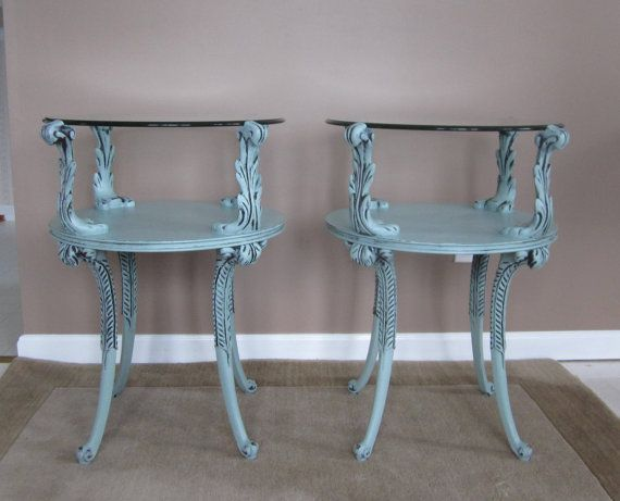Merveilleux Rare End Tables Made By Adams Always From FineNestFurnishings, $330.00