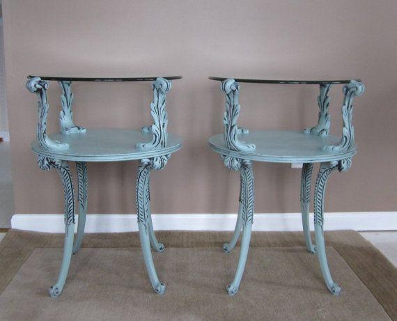 Rare End Tables By Adams Always Fine By FineNestFurnishings