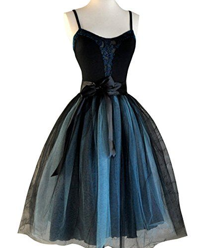 9b2dffe409 Duraplast Womens Tulle Skirt Empire Waist 2 Tones Knee Length Black and  Blue Plus Size -- Details can be found by clicking on the image.